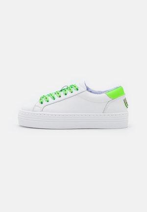 EYESTAR  - Sneakers laag - white/green fluo