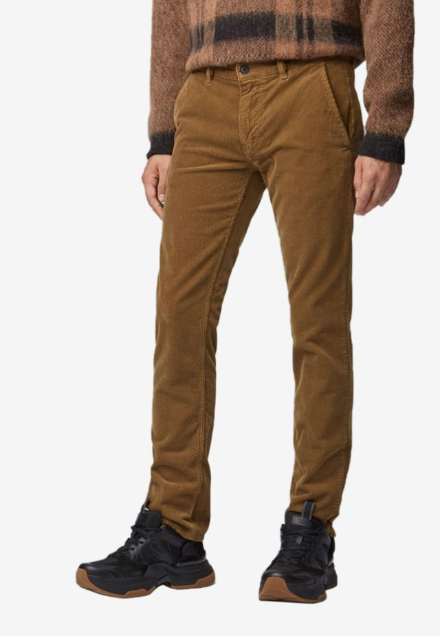 Pantalones - open beige