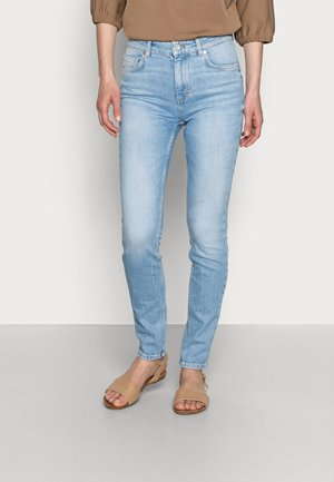 TROUSER  HIGH WAIST - Jeans Skinny Fit - blue