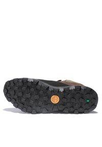 Timberland - TREELINE LOW - Chaussures à lacets - dark brown nubuck - 4