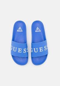 Guess - SLIDES - Sandály do bazénu - adventure blue - 3