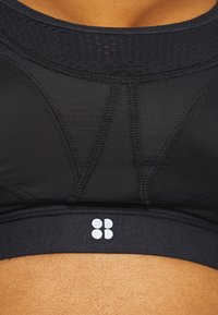 Sweaty Betty - ULTRA SPORTS BRA - Sujetadores deportivos con sujeción alta - black - 5