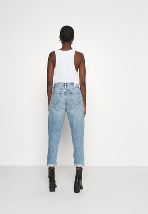 BAGGY - Jeansy Relaxed Fit - denim light