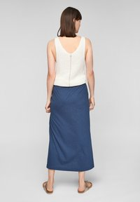 s.Oliver - A-line skirt - faded blue - 2