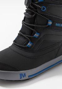 Merrell - SNOW BANK 2.0 WTRPF - Winter boots - black - 2