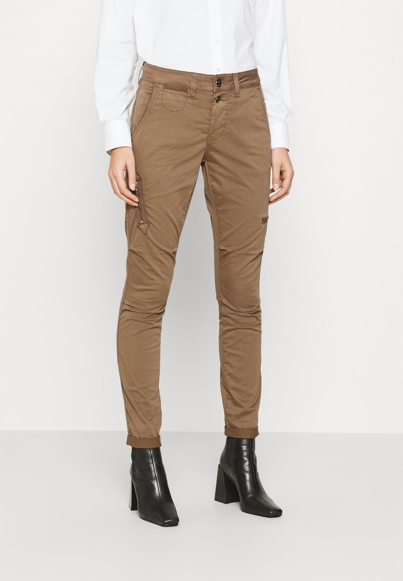 Mos Mosh - VALERINE CARGO PANT - Trousers - brown