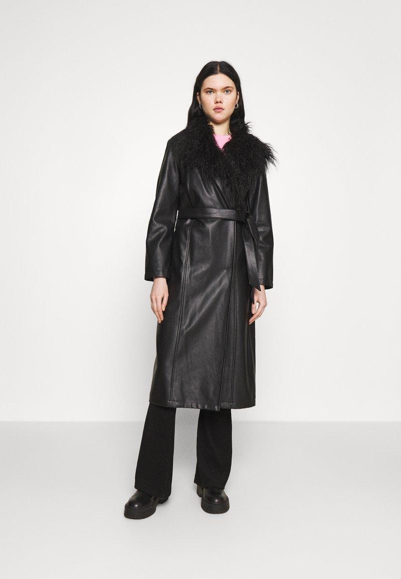 Topshop - SIENNA - Classic coat - black