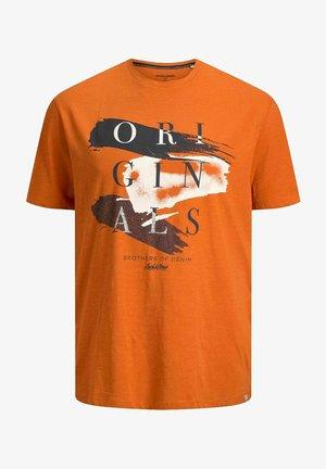 JORCALIBRUSH TEE CREW NECK - Camiseta estampada - hawaiian sunset