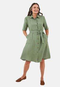 LC Waikiki - KLEID - Maxi dress - khaki - 0