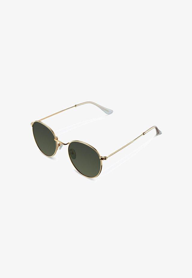 Sunglasses - gold olive