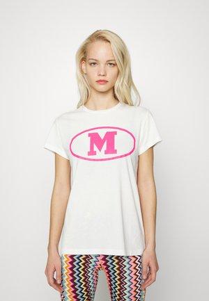 SHORT SLEEVE - T-shirt print - marshmallow