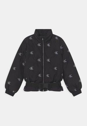 MINI MONOGRAM - Winter jacket - black