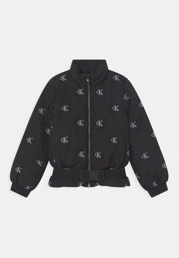 MINI MONOGRAM - Zimní bunda - black
