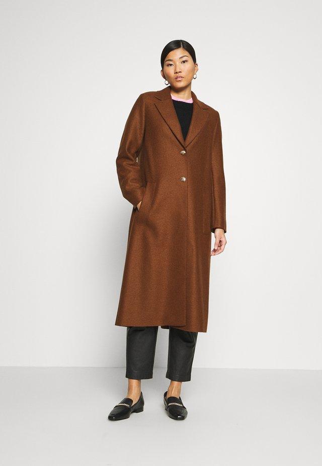 Cappotto classico - chestnut brown