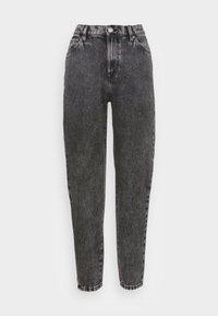 TROUSERS PAM BLACK ACID - Straight leg jeans - black
