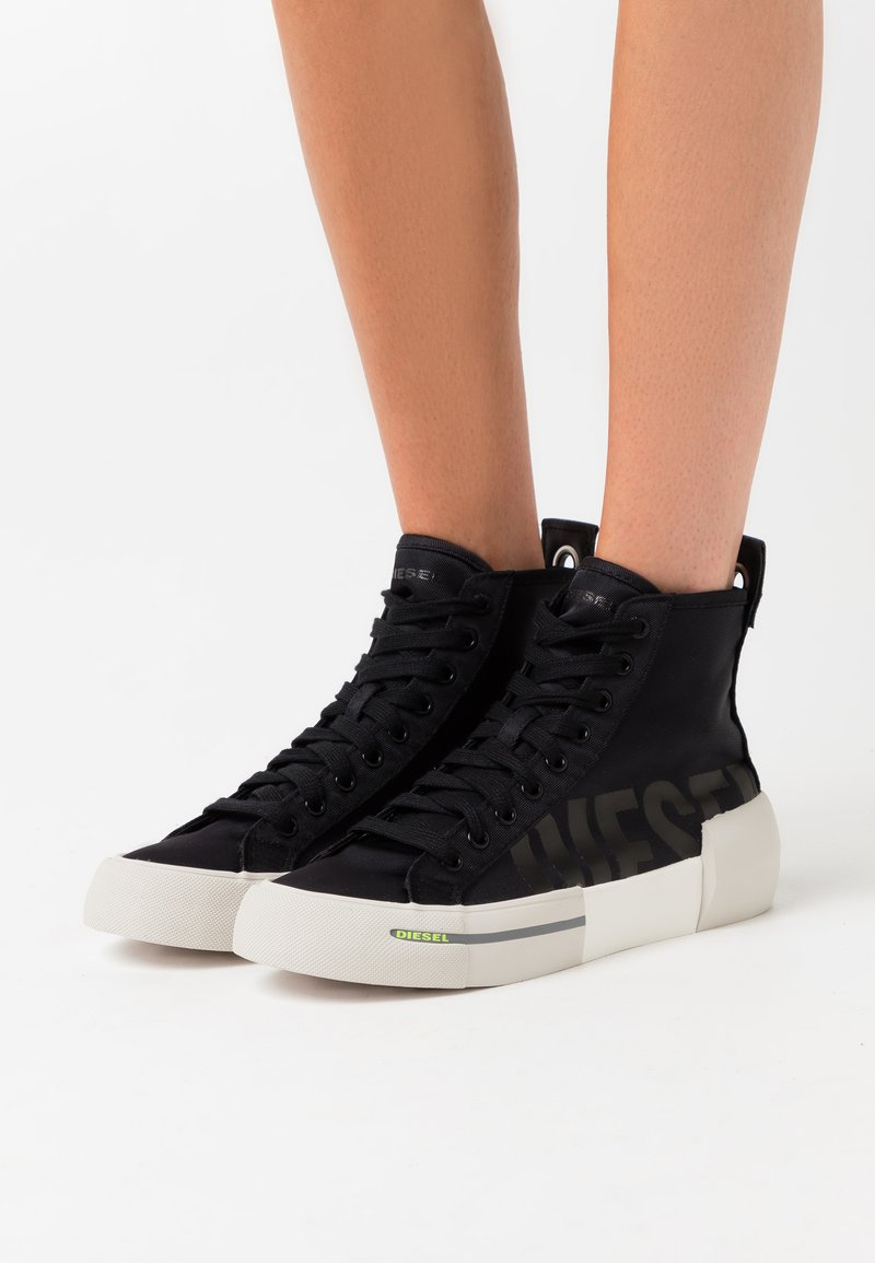 Diesel - DESE S-DESE MID CUT W - High-top trainers - black