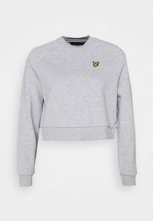 CROPPED  - Sweatshirt - light grey