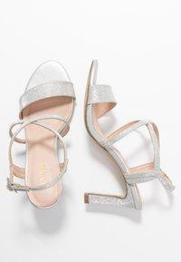 Menbur - Sandály na vysokém podpatku - silver - 3