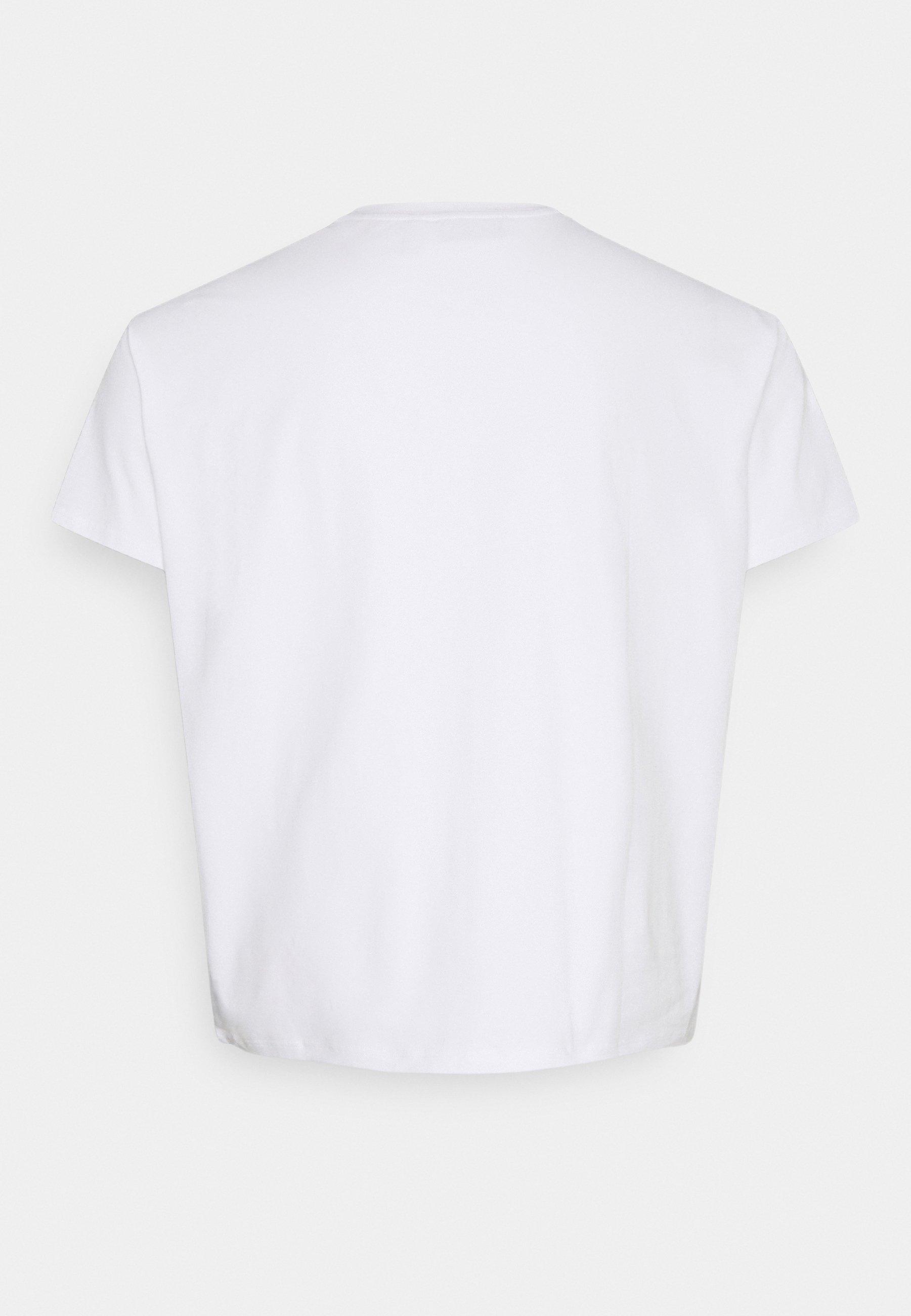 Men PLUS SHORT SLEEVE CREW NECK - Basic T-shirt