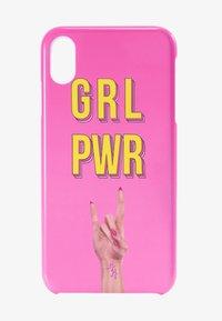 Antwerp Avenue - iPhone XS MAX - Phone case - pink - 1