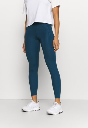 W MOTIVATION HR 7/8 POCKET TIGHT - Leggings - monterey blue