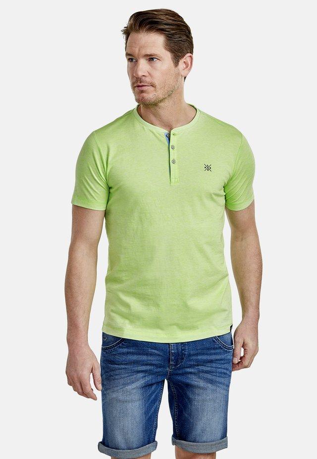 FINELINER - Print T-shirt - urban green