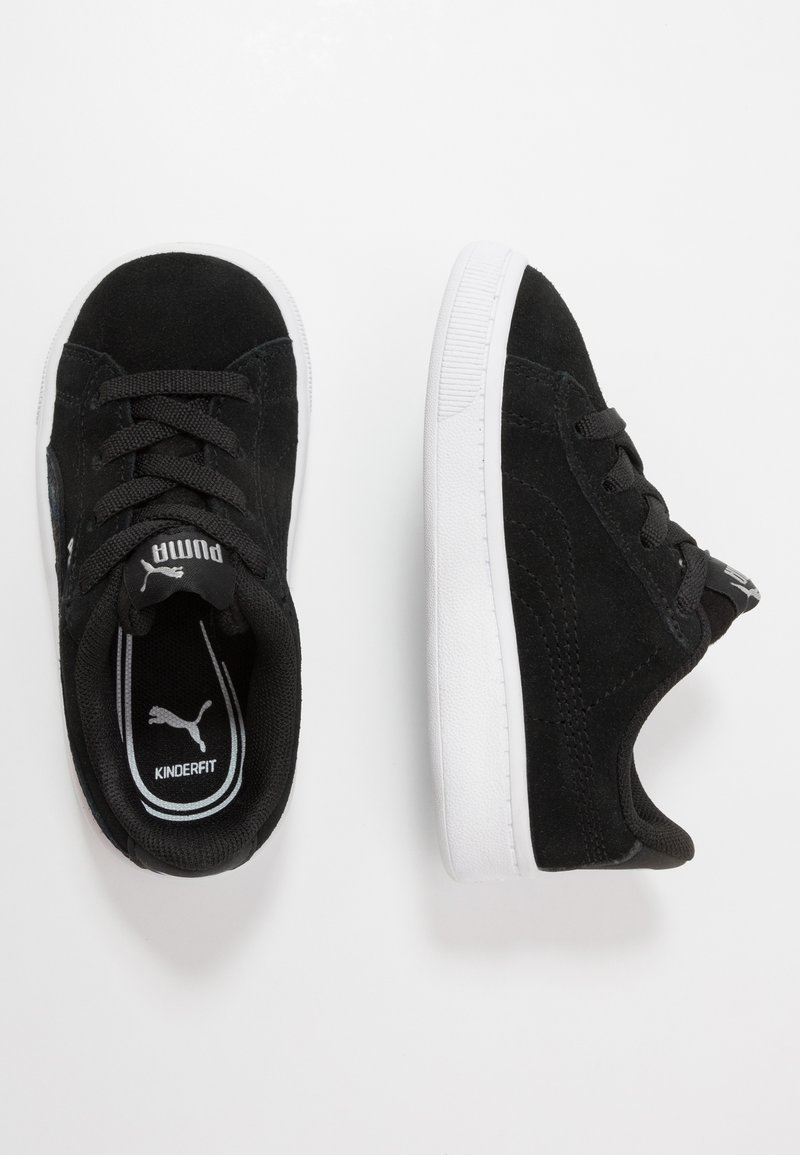 Puma - VIKKY - Trainers - black/silver/white