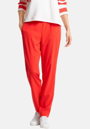 MARC CAIN DAMEN JOGPANTS - Trousers - koralle (73)