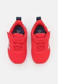 adidas Performance - FORTARUN UNISEX - Neutral running shoes - vivid red/footwear white/crew navy - 3