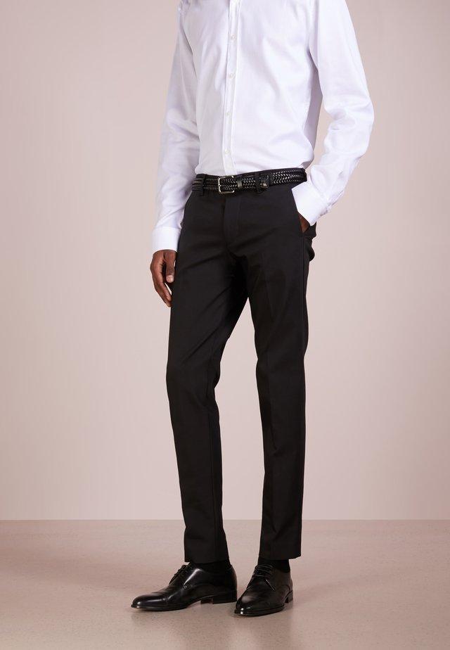 SIGHT - Spodnie garniturowe - black