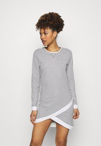 Esprit - ALDERCY NIGHTSHIRT - Nightie - medium grey - 1