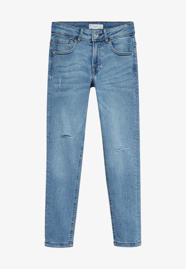 Jean slim - bleu moyen