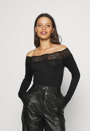 PCSIE - Maglietta a manica lunga - black