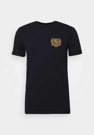 EGALITÉ - Print T-shirt - dark navy