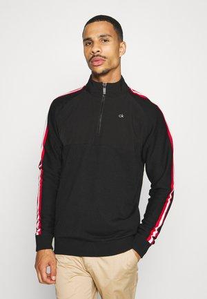 GLACIER HALF ZIP - Pullover - black