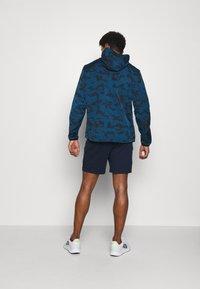 Jack & Jones - JJIAIR - Sports shorts - navy blazer - 2