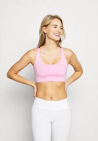 Hey Honey - CRISS CROSS BRA - Light support sports bra - macaron - 0