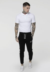 SIKSILK - STRETCH FIT ZIP COLLAR - Polo - white - 1