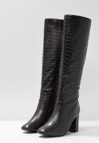 New Look - CARE - Stivali alti - black - 4