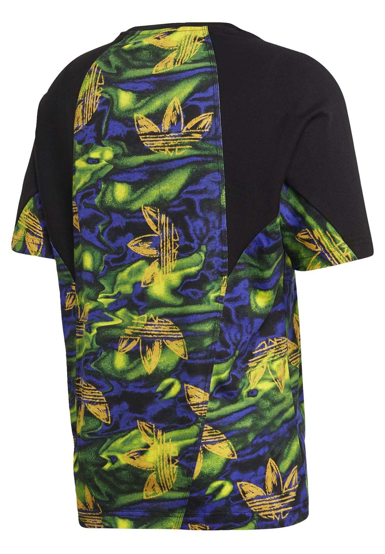 Adidas Originals Big Trefoil - T-shirt Z Nadrukiem Multicolour
