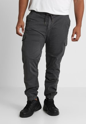 LEVI PLUS - Cargo trousers - raven