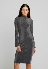 YAS - YASJENNIFER DRESS SHOW - Cocktailkleid/festliches Kleid - black/silver - 0