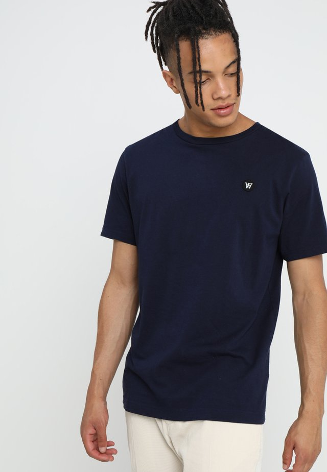 ACE - Basic T-shirt - navy