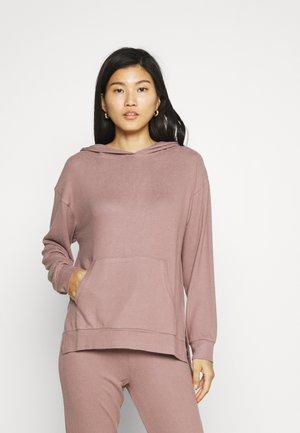 LOUNGE TOP HOOD FELICITY - Pyjamasoverdel - light dusty lilac