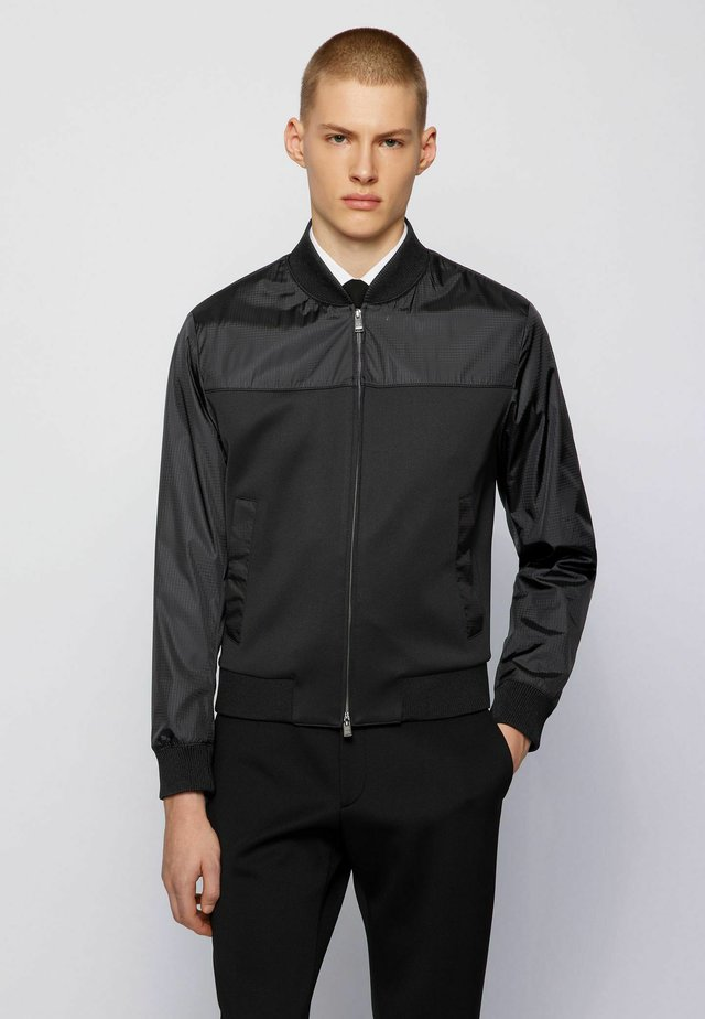 NOLWIN - Bomber Jacket - black