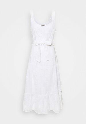 MINOU BRODERIE ANGLAISE DRESS - Kjole - white