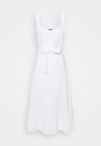 MINOU BRODERIE ANGLAISE DRESS - Robe d'été - white