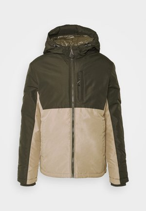JORFASTER JACKET  - Giacca da mezza stagione - forest night blocking