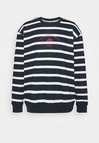 Newport Bay Sailing Club - BOLD HORIZONTAL STRIPE - Sweatshirt - navy/white - 5