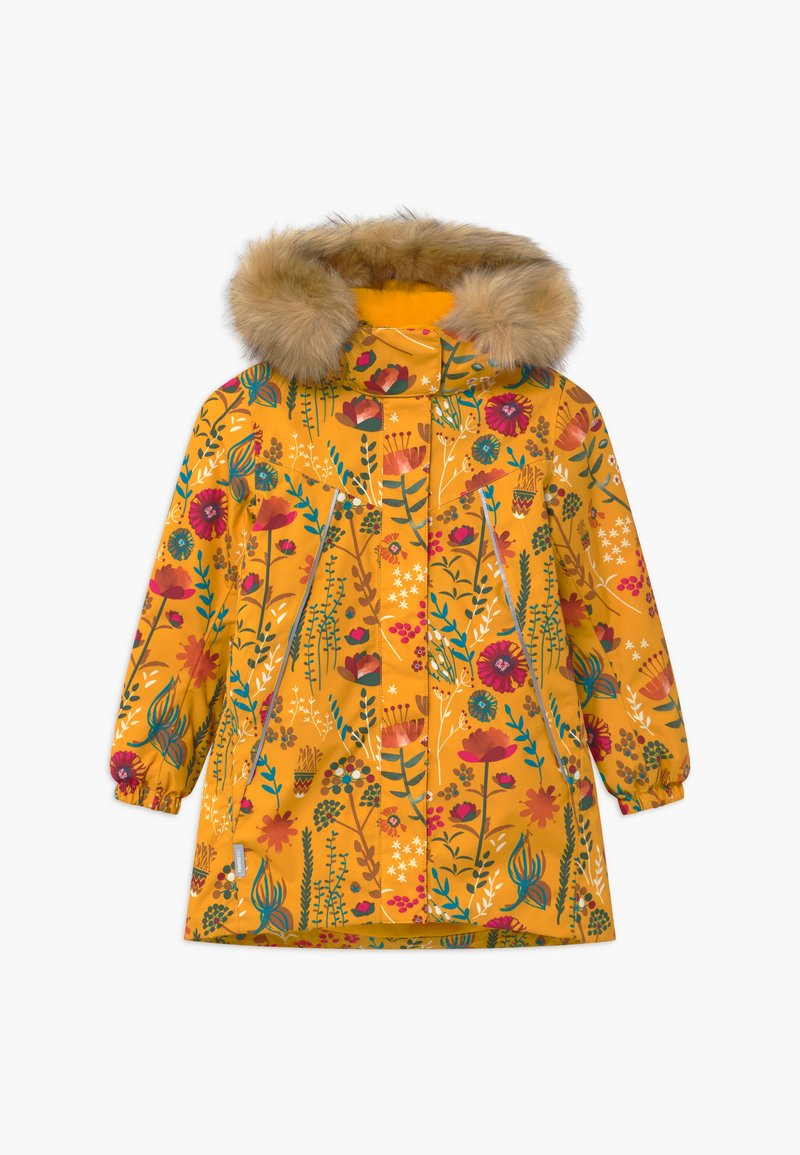Reima - WINTER MUHVI UNISEX - Winter coat - warm yellow
